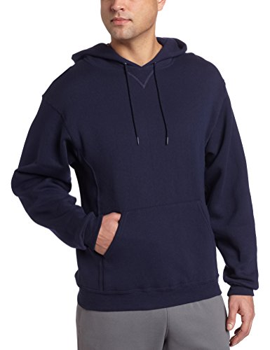 Russell Athletic Men's Dri-Power Pullover Fleece Hoodie, Navy, Large