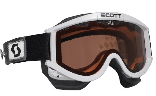 Scott 87 OTG Speed Strap Snowmoible Goggles (White)