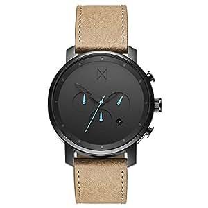 MVMT Chrono Watches | 45 MM Men's Analog Watch Chronograph | Gunmetal Sandstone