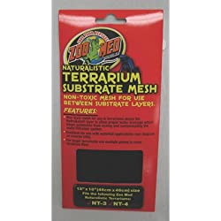 "Naturalistic Terrarium Mesh [Set of 3] Size: 12"" x 12"""