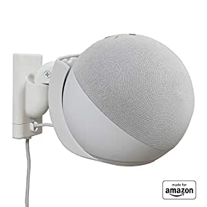Best Epic Trends 41QnMeDHTNL._SS300_ All New, Made For Amazon Wall Mount, White, Echo (4th generation)