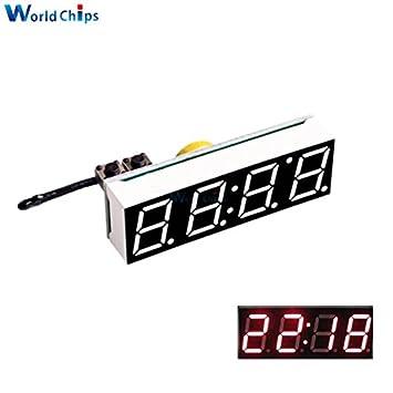 3 en 1 DIY Digital reloj temperatura voltaje Kit DS3231SN 5 – 30 V DC electrónico