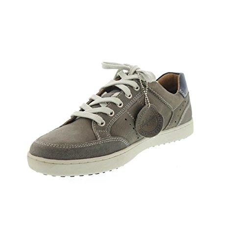 Grey Sneaker Leather Australian Scott Blue Herren qwOnAU8