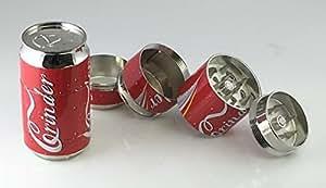 """Pop CAN 2"""" ,Super Mini tobacco Herb Grinder,4 Parts"""