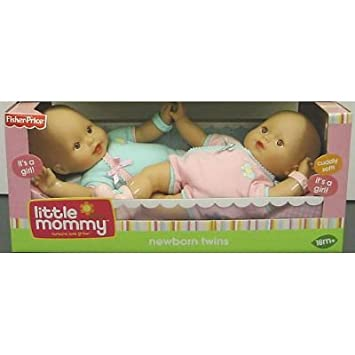 Amazon.com: Little Mommy Baby Tan Nuevos Gemelos: Baby