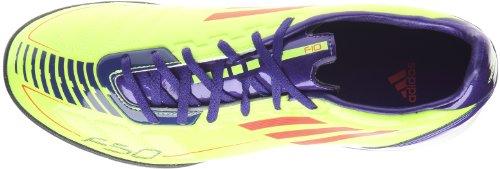 adidas F10TRX TF, Schuhe Fußball Herren Electricité/Infrarouge/Violet anodisé