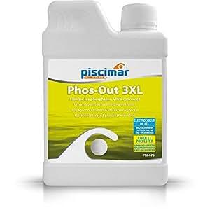 PM-675 Phos-out 3XL: eliminador ultraconcentrado de fosfatos de la Piscina. Botella 0,8 Kg.