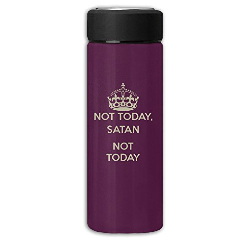 Nicole Smith Not Today Watertight Safe Insulated Frosted Vacuum Cup Thermoses Mug Water Bottle Coffee Mugs