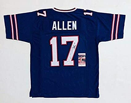 free shipping c6077 6a3d3 Signed Josh Allen Jersey - PRO STYLE w WITNESSED COA ...