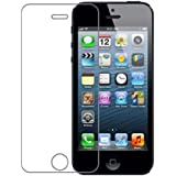iPhone 5C Screen Protector,MLOVE High Definition Premium Tempered Glass Clear Screen Protector for Apple iPhone 5c