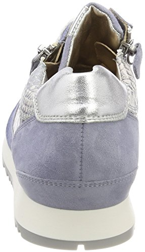 Hassia Barcelona, Weite H, Sneaker Donna Blau (Azure/Multi)