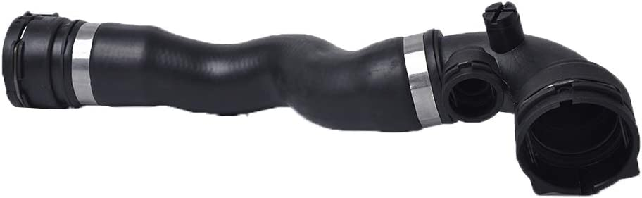 Fgyhty Manguera de refrigerante de Alta Qaulity Coche de Goma Delantera Superior 17127510952 refrigerante del radiador Manguera Superior de reemplazo para E46 320 323 328 17127510952