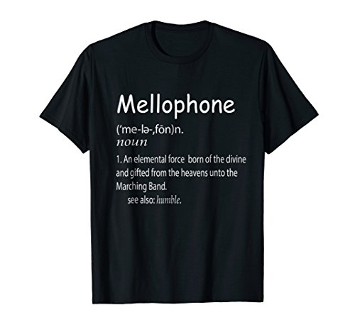 Mellophone Definition Music Tee Shirt Gift