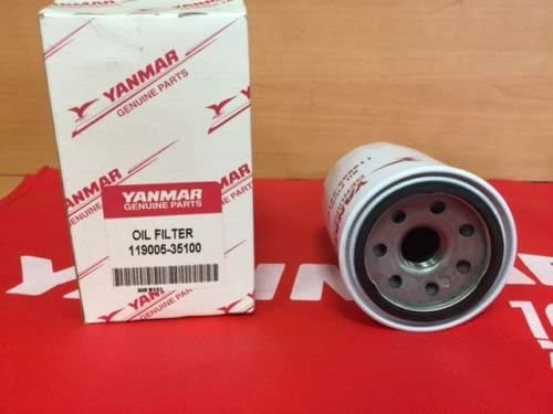 119005-35170 Yanmar marine oil filter replaces 119005-35100 119005-35151
