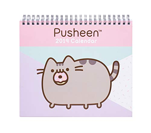 Grupo Erik Editores Pusheen the Cat - Calendario de sobremesa 2019, 17 x 20 cm