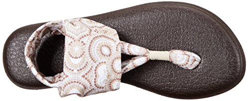 Radio Multi 2 Love Sanuk Yoga Flip Sling Women's Natural Flop q7ZP1