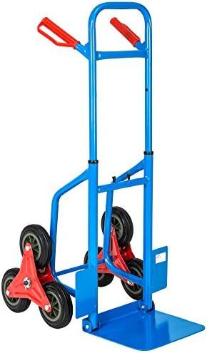 TecTake Carretilla de mano sube escaleras profesional de transporte carro: Amazon.es: Bricolaje y herramientas