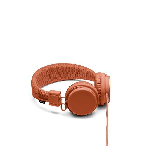 Urbanears Plattan 头戴式重低音时尚耳机 便携折叠线控手机耳麦 营火橙