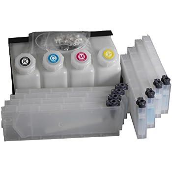 Amazon.com: Roland Bulk sistema de tinta -- 4 cartuchos de ...