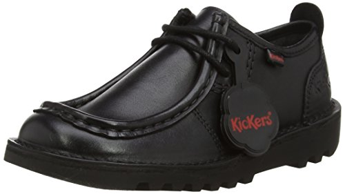 Kickers Boys' Kick Wallbi Derbys, Black (Black), 3 UK 36 EU