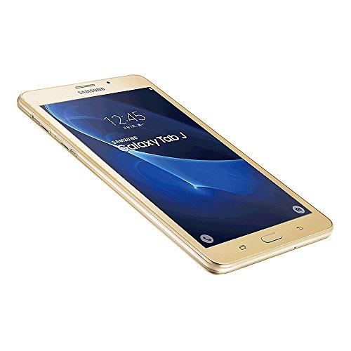 Samsung Galaxy Tab J 7.0 SM-T285YZ 8GB 7.0-inch 4G LTE + Wi-Fi Tablet PC - International Stock No Warranty (GOLD)