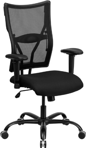 Flash Furniture Hercules Series 400 lb. Capacity Black Mesh Executive Swivel Office (400 Metal Furniture)