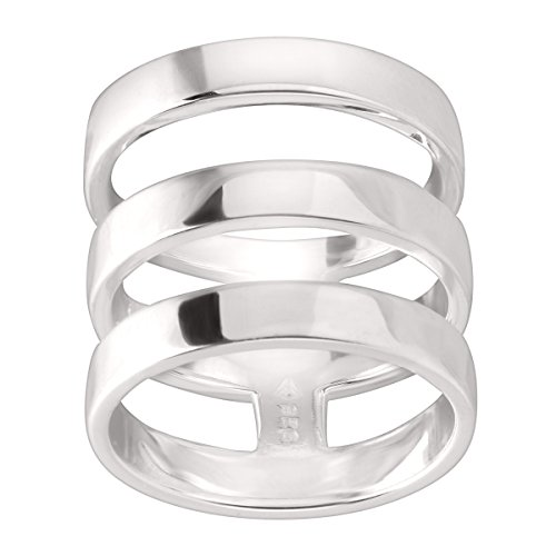 Silpada Jewelry (Silpada 'Contemporary Art' Sterling Silver Ring, Size 7)