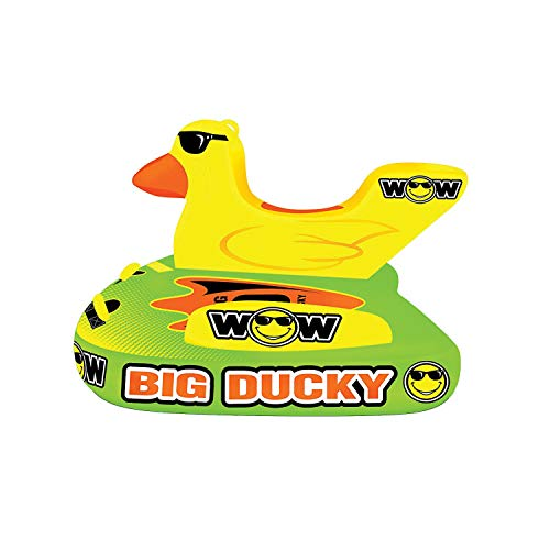 WoW Watersports 18-1140 1 to 3 Person Towable, Big Ducky, Sit, Stand Kneel or Lay Down