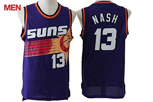 Phoenix Suns Steve Nash #13 Men's Retro Jersey - Purple XXL