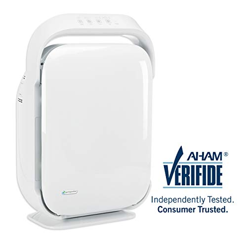 GermGuardian AC9200WCA 3-in-1 Large Room Air Purifier, HEPA Filter, UVC Sanitizer, Up to 335 sq. ft, Home Air Cleaner Traps Allergens for Smoke, Odors, Dust, Germs, Smokers,3 Yr Warranty Germ Guardian Review
