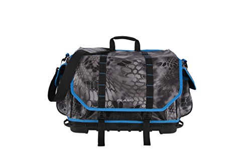 Plano Tackle Storage, Z- Series Rust Free 3700 Size Tackle Bag, Kryptek Raid/Blue, Includes Five 3750 Stowaway Boxes, No-Slip Molded Bottom Design, Premium Tackle - Large Tackle