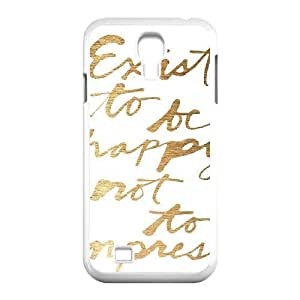 Gentleman's Quotes Samsung Galaxy S4 Case White Yearinspace931380