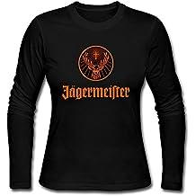 MAT Q VO Women's Jagermeister Logo Long Sleeve T Shirts/Tee