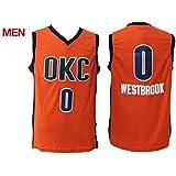 NEW! Russell Westbrook #0 Oklahoma City Thunder Mens Basketball Jerseys