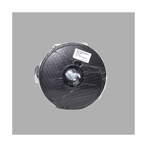 Wanhao ABS 1.75mm3D Printer Filament - By 3D Print World (Silver)