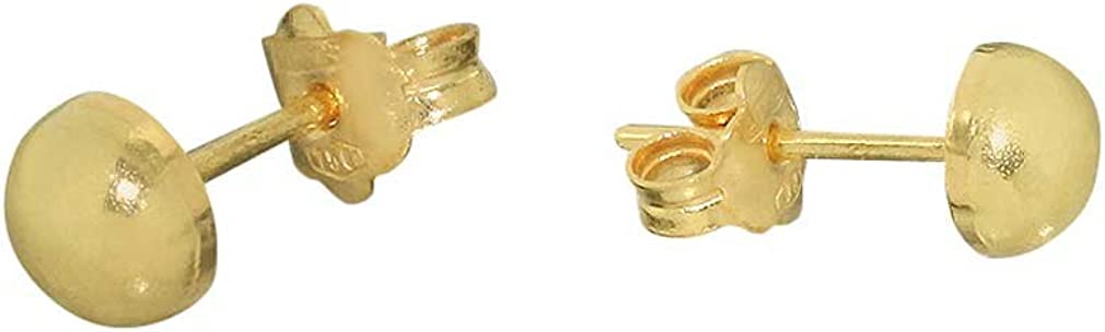585 Gold Ohrstecker mit Opal Kugel 6 mm Grösse