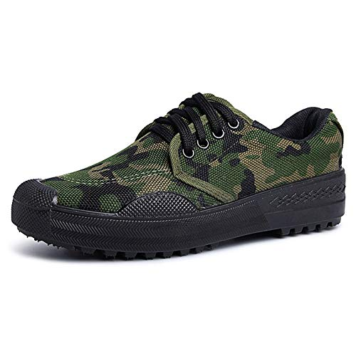 Rcnrycamouflage scarpe casual, antiscivolo, resistente all' usura, comfort, Low Light comfort, Labor della tela, traspirante scarpe in gomma, C,45
