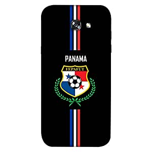 ColorKing Samsung A5 2017 Football Black Case shell cover - Fifa Panama 01
