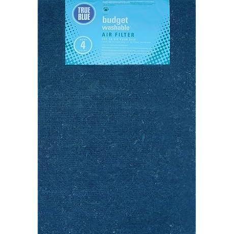 True Blue 120301 20 X 30 Blue Fiberglass Air Filter