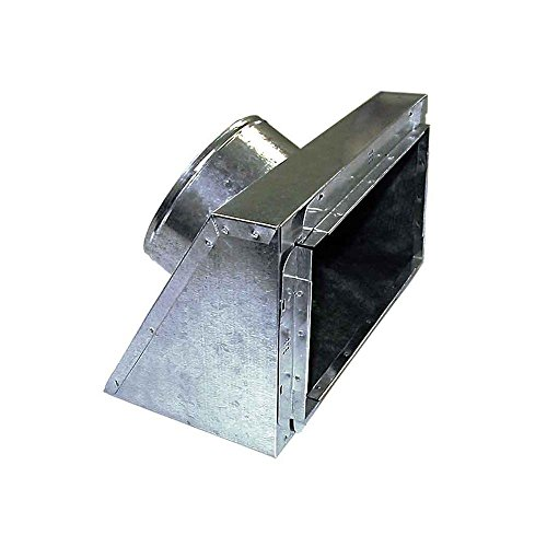 (10 in. x 10 in. to 8 in. Slant Top Insulated Register Box with Tabs)