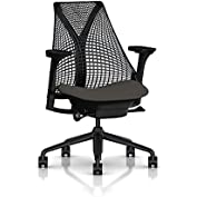 Herman Miller Sayl Task Chair: Tilt Limiter with Seat Angle Adjustment - Adj Seat Depth - Fully Adj Arms - Standard...
