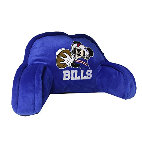 20x12 Bedrest Fan - The Northwest Company Officially Licensed NFL Buffalo Bills Mickey Mouse Plush 12
