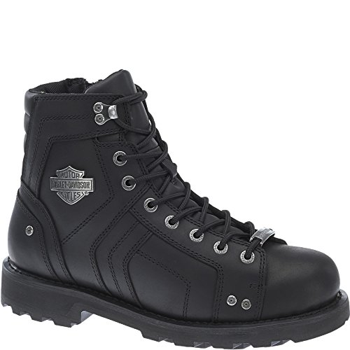 3e2fb47d69f3 85%OFF Harley-Davidson Men s Performance Mandrake Black Motorcycle Boots  D96111