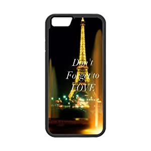iPhone 6 Plus 5.5 Inch Cell Phone Case Black love me 115 Xneif