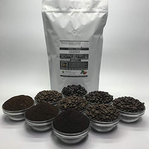 2 Pounds - Northern Africa - Uganda - Roasted To Order Arabica Coffee - Order Today/We Roast Today - Choose Roast Level (Light /Blonde /Medium /Med-Dark /Dark /Italian) (Whole Bean /Ground)