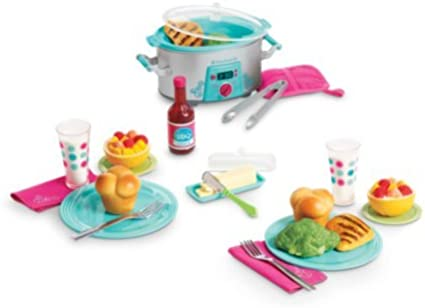 "American Girl Truly Me Lasagna Dinner Set for 18/"" Dolls Delicious Dinner"