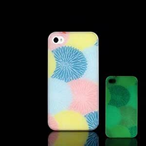 LCJ iPhone 4/4S compatible Graphic/Special Design/Glow in the Dark Back Cover by icecream design