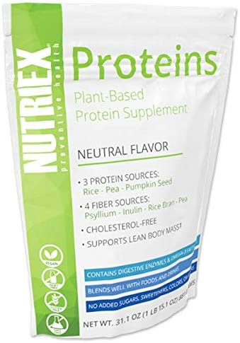 Nutriex Proteins – Plant-Based Protein Supplement
