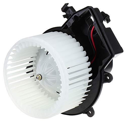 (SCITOO ABS Plastic Heater Blower Motor w/Fan HVAC Resistors Blowers Motors Fit for Mercedes-Benz CLK280 2007-2009 /Mercedes-Benz CLK320 2004-2005 /Mercedes-Benz CLK500 2005-2009 Front)