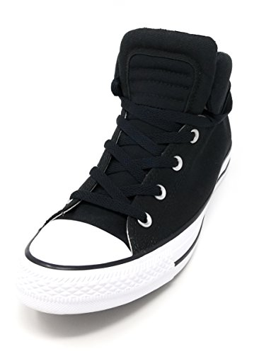 Converse CTAS Chuck Taylor All Star Brookline Mid Black/Black/White (7) by Converse